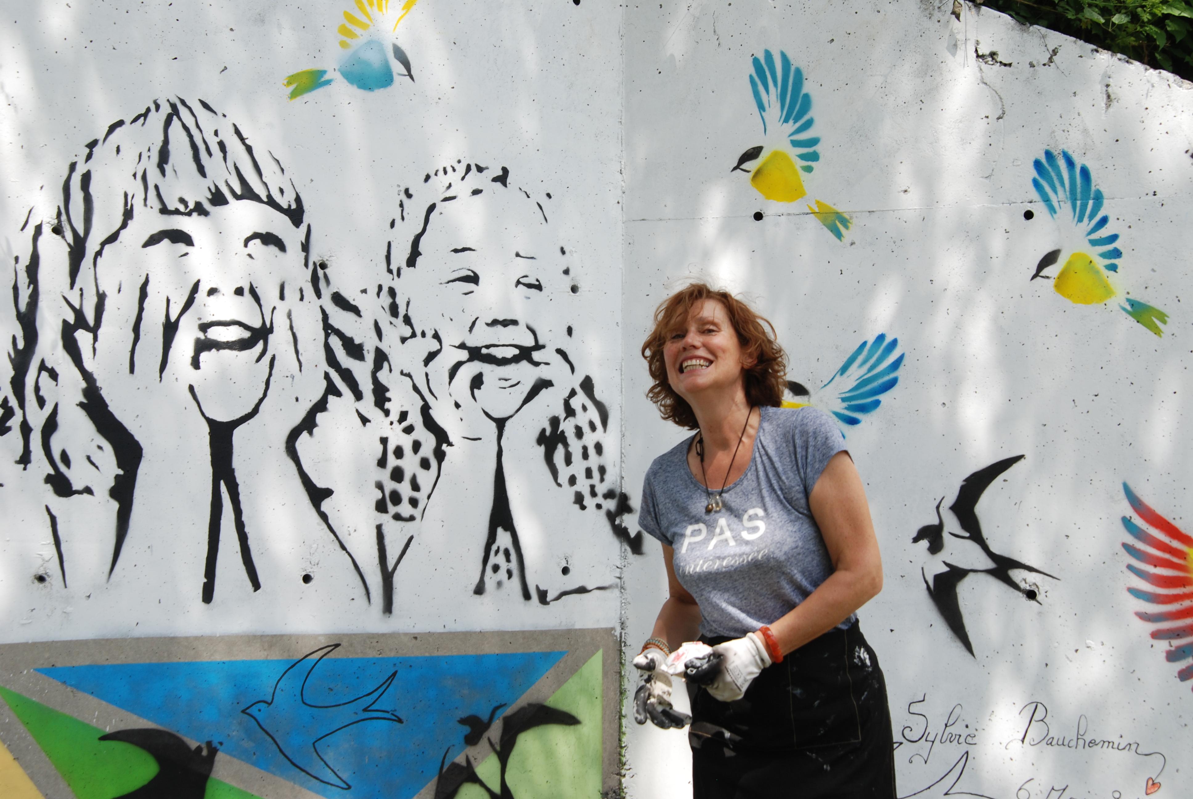 Peindre Une Fresque Sur Un Mur portrait┃les murs reprennent goût à la vie avec la peinture