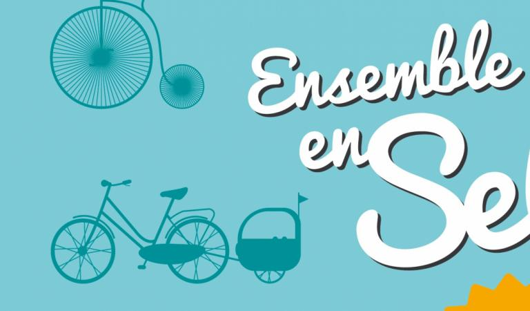 """Ensemble en Selle"" source : lillemetropole.fr"